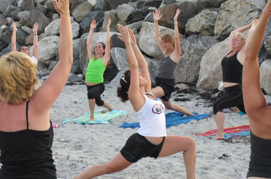 The Pilates Room - beach yoga